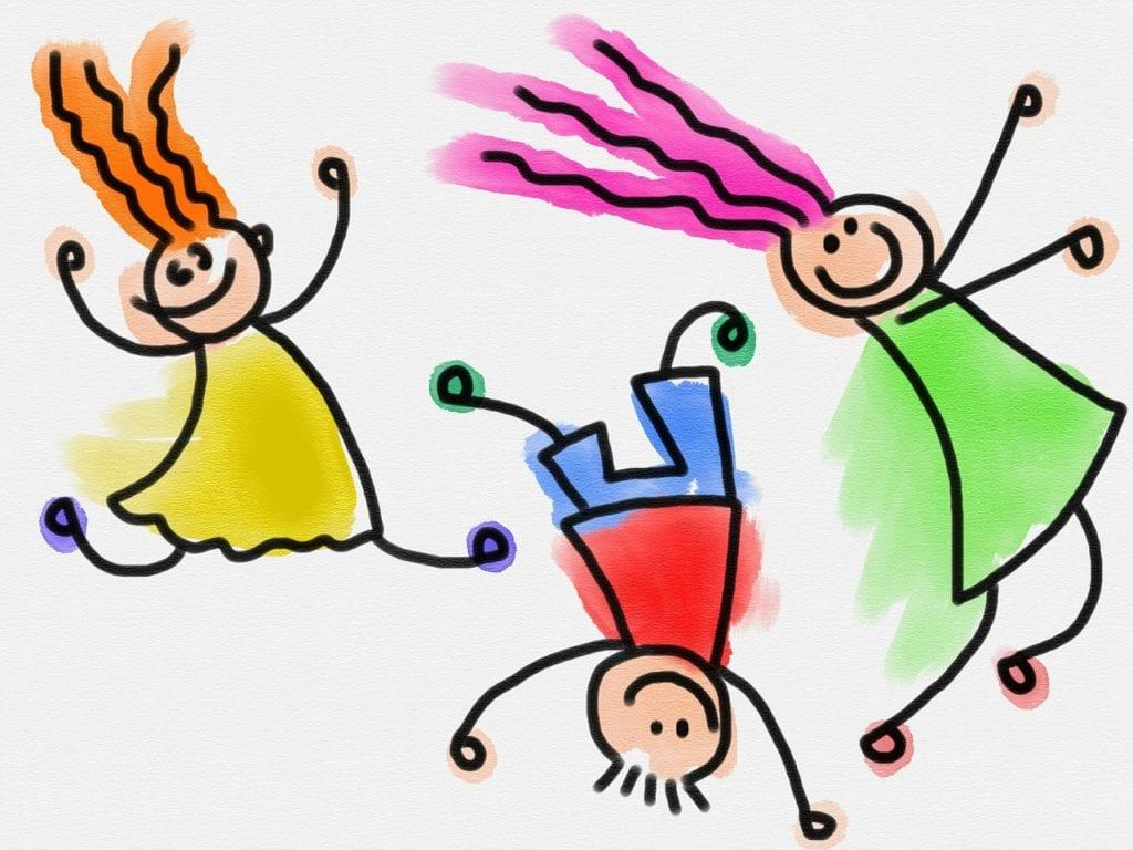 kids, children, doodle
