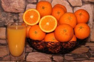 orange, juice, fruit