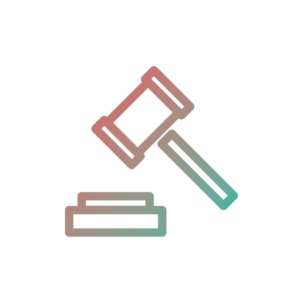 auction, icon, symbol