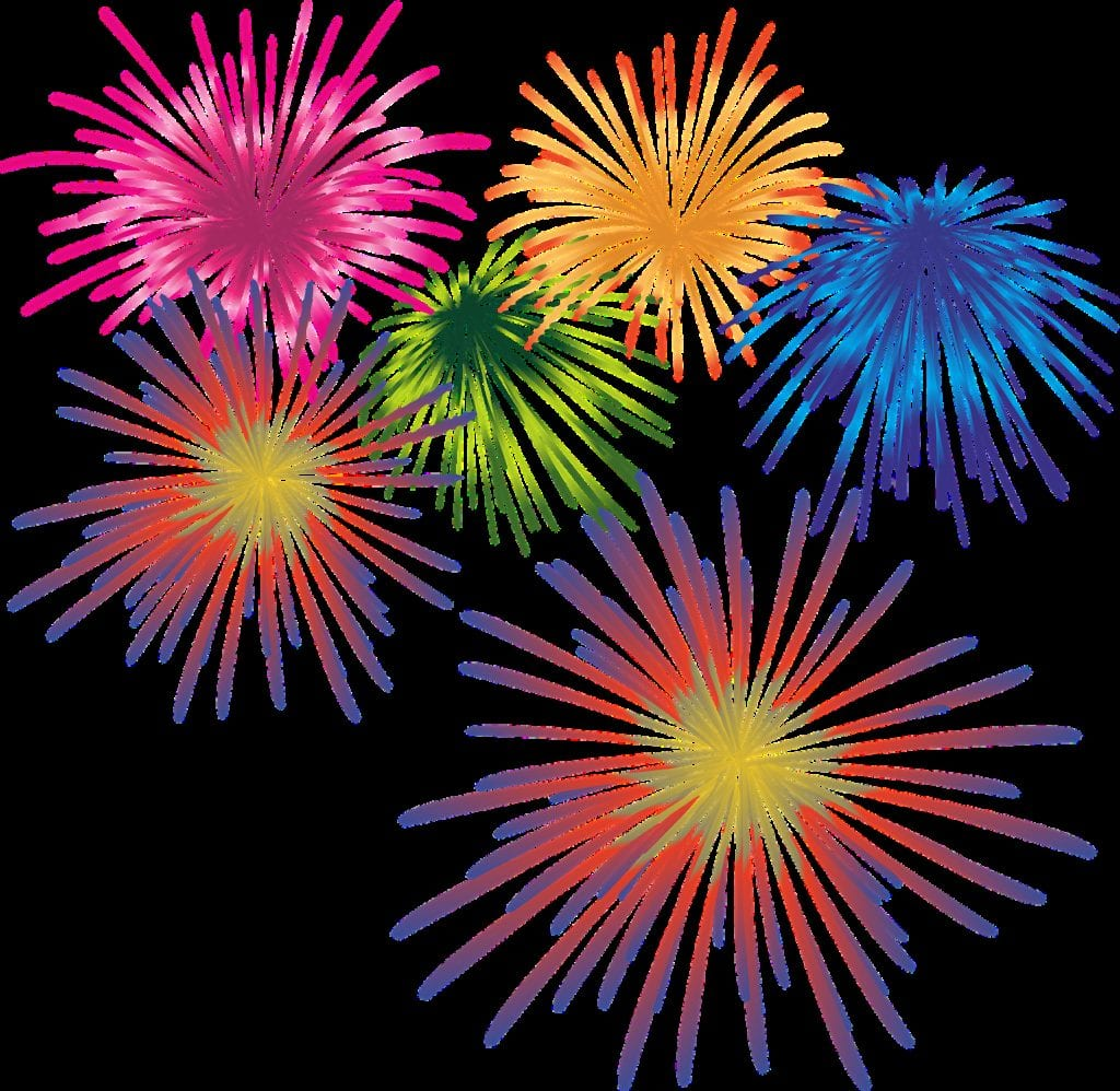 fireworks, new year's eve, sparkler